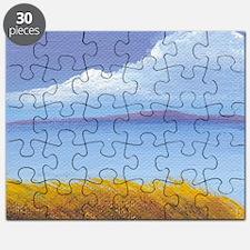 Summer Lake Scene Puzzle