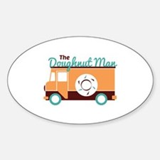 Doughnut Man Decal