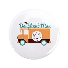 Doughnut Man Button