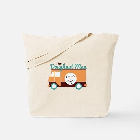 Doughnut Man Tote Bag