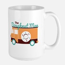 Doughnut Man Mugs