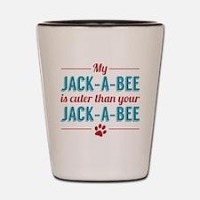 Cuter Jack-a-bee Shot Glass