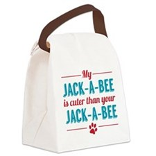 Cuter Jack-a-bee Canvas Lunch Bag