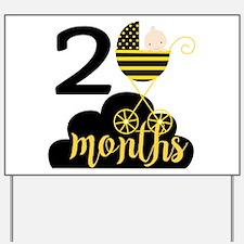 2 Months Monthly Milestone Yard Sign