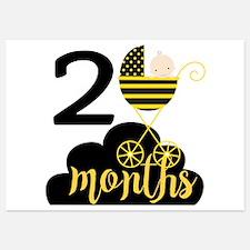 2 Months Monthly Milestone Invitations