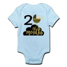 2 Months Monthly Milestone Infant Bodysuit