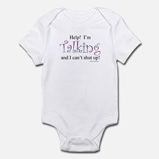 Help! I'm talking... Infant Bodysuit
