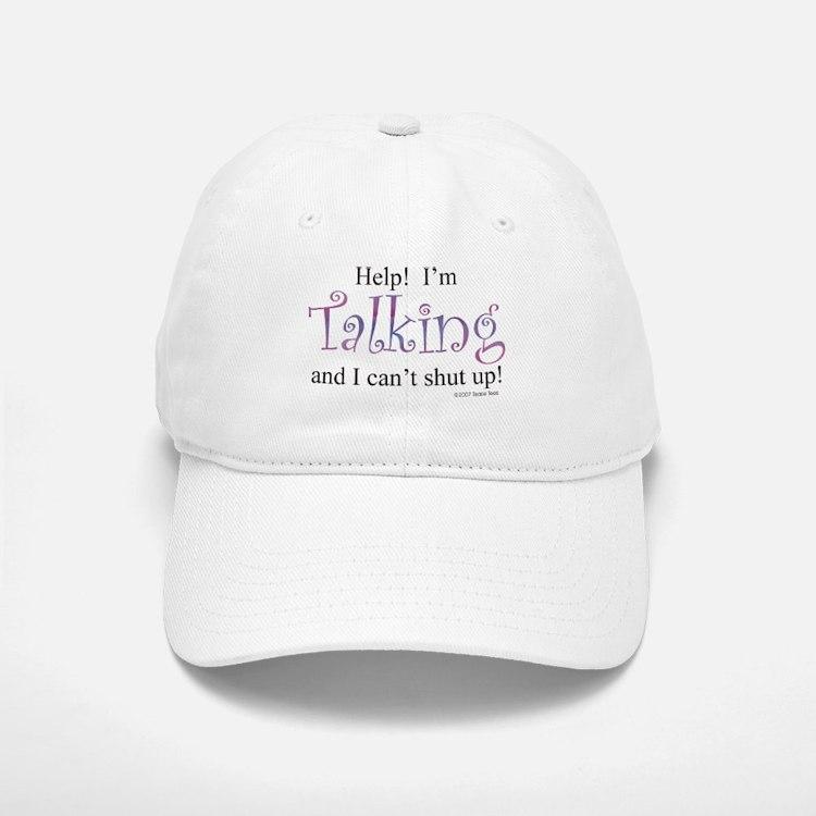 Help! I'm talking... Baseball Baseball Cap
