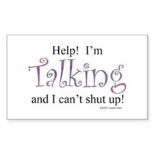Help! I'm talking... Decal