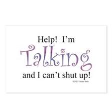 Help! I'm talking... Postcards (Package of 8)