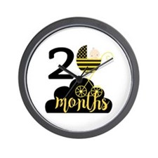 2 Months Monthly Milestone Wall Clock