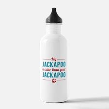 Cuter Jackapoo Water Bottle