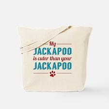 Cuter Jackapoo Tote Bag