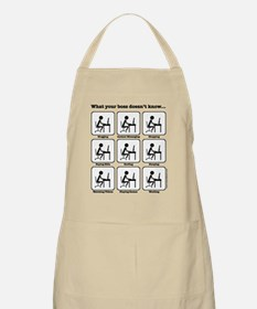 What your boss doesn't know BBQ Apron