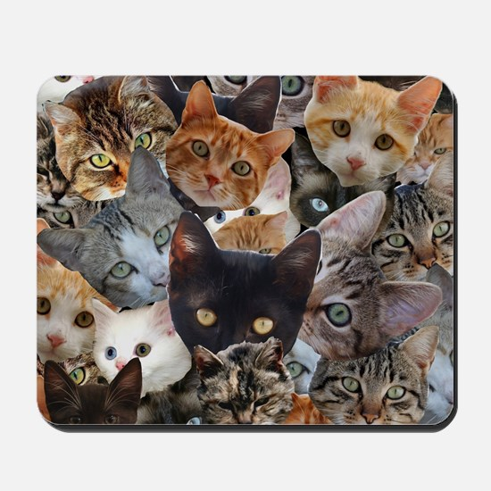 Kitty Collage Mousepad