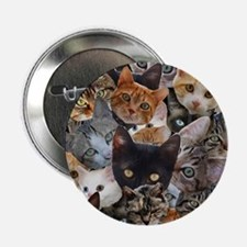 "Kitty Collage 2.25"" Button"