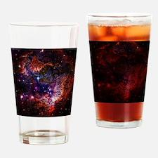 The Cat Galaxy Drinking Glass