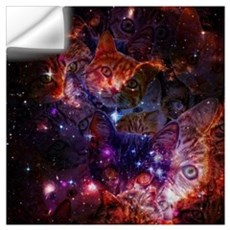 The Cat Galaxy Wall Decal