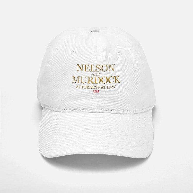 Daredevil Nelson and Murdock Baseball Baseball Cap
