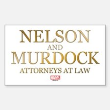 Daredevil Nelson and Murdock Decal