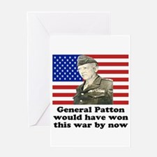 Patton Iraq Greeting Card