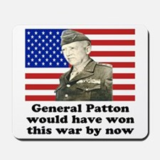Patton Iraq Mousepad
