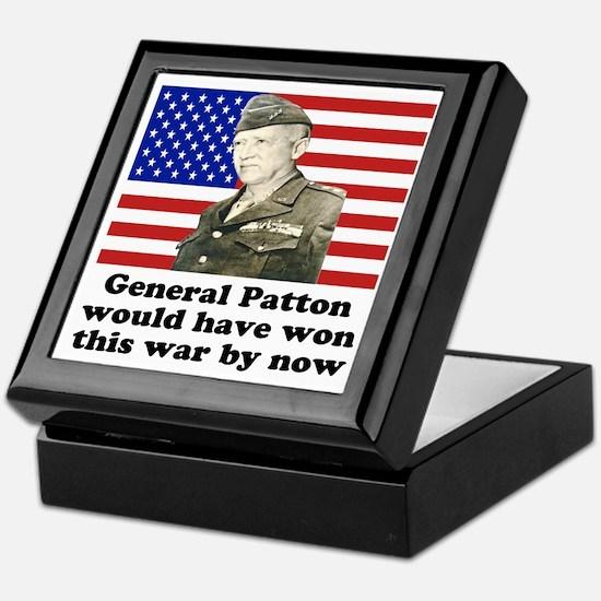 Patton Iraq Keepsake Box