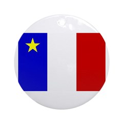 Acadian Stuff Ornament (Round)