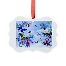 Take Flight Butterfly Orchid Art Ornament
