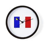 Acadian Stuff Wall Clock