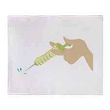 Injection Throw Blanket