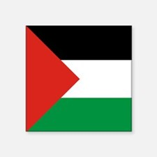 Square Palestinian Flag Sticker