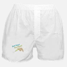 Flu Shot Boxer Shorts