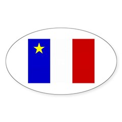Acadian Stuff Oval Decal