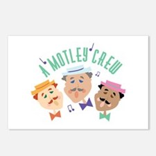 Motley Crew Postcards (Package of 8)