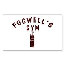 Daredevil Fogwell's Gym Decal
