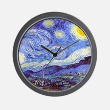 Starry Night Van Gogh Wall Clock