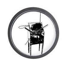 Vintage Theremin Front Wall Clock