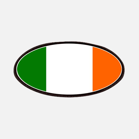 Borderless Square irish Flag Patch