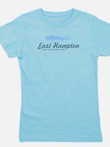 East Hampton - New York. Girl's Tee