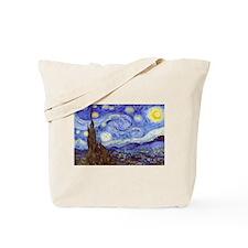 Starry Night Van Gogh Tote Bag