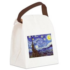 Starry Night Van Gogh Canvas Lunch Bag