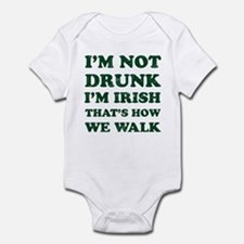 Im Not Drunk Im Irish - Washed Body Suit