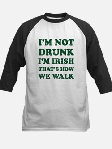 Im Not Drunk Im Irish - Washed Baseball Jersey