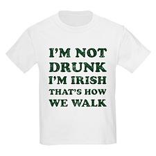 Im Not Drunk Im Irish - Washed T-Shirt