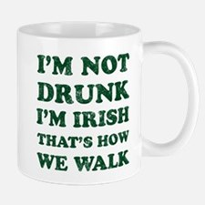 Im Not Drunk Im Irish - Washed Mugs