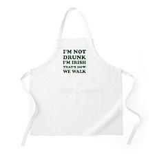 Im Not Drunk Im Irish - Washed Apron