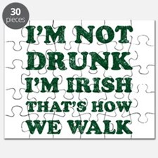 Im Not Drunk Im Irish - Washed Puzzle