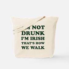 Im Not Drunk Im Irish - Washed Tote Bag