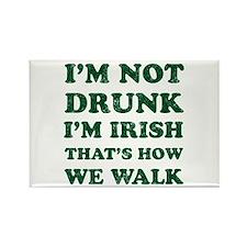 Im Not Drunk Im Irish - Washed Magnets